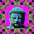 Buddha Abstract Window 20130130p0 by Wingsdomain Art and Photography