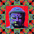Buddha Abstract Window 20130130p55 by Wingsdomain Art and Photography