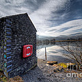Buoy At Lake by Adrian Evans