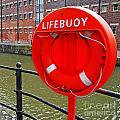 Buoy Foam Lifesaving Ring by Luis Alvarenga