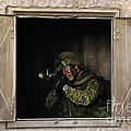 Canadian Army Soldier Conducts Military by Stocktrek Images
