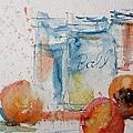 Canning Peaches by Sandra Strohschein