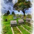 Cemetery Clouds by Amy Cicconi