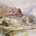 Chalet, Brunnen, Lake Lucerne by James Duffield Harding