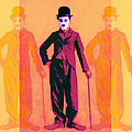 Charlie Chaplin The Tramp Three 20130216 by Wingsdomain Art and Photography