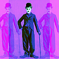 Charlie Chaplin The Tramp Three 20130216m108 by Wingsdomain Art and Photography