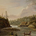 Cheevers Mill On The St. Croix River by Henry Lewis