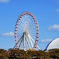 Chicago Navy Pier Ferris Wheel by Christine Till