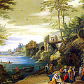 Christ And The Canaanite Woman by Jan Brueghel