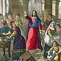 Christ Cleanses The Temple by Siegfried Detler Bendixen