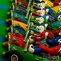 Clowns In Cars Amusement Park Game by Amy Cicconi