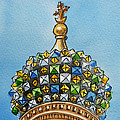 Colors Of Russia St Petersburg Cathedral IIi by Irina Sztukowski