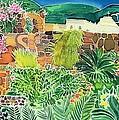 Convent Gardens Antigua by Hilary Simon