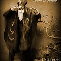Count Dracula In Sepia by John Malone