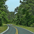 Country Road by Victor Montgomery