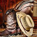 Cowboy Gear by Olivier Le Queinec