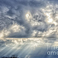 Crepuscular Rays by Thomas R Fletcher