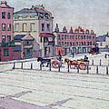 Cumberland Market North Side by Robert Polhill Bevan
