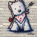 Cupid Westie by Kim Niles