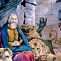 Daniel In The Lions Den by Currier and Ives