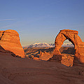 Delicate Arch At Sunset-2 by Alan Vance Ley