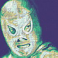 El Santo The Masked Wrestler 20130218v2 by Wingsdomain Art and Photography