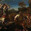 Erminia And The Shepherds by Giovanni Francesco Barbieri