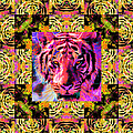 Eyes Of The Bengal Tiger Abstract Window 20130205p80 by Wingsdomain Art and Photography