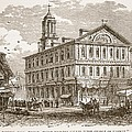 Faneuil Hall, Boston, Which Webster by American School