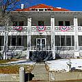 Fort Bayard Commandant's House by Feva  Fotos