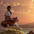 Fox Maiden by Daniel Eskridge