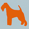 Fox Terrier Orange by Naxart Studio