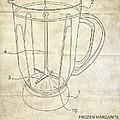 Frozen Margarita Recipe Patent by Edward Fielding