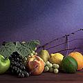Fruit In Still Life by Tom Mc Nemar