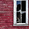 Ft Collins Barn Window 13568 by Jerry Sodorff