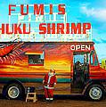Fumis Kahuku Shrimp by Ron Regalado