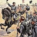 General Mcclellan At The Battle by Henry Alexander Ogden