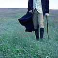 Gentleman Walking In The Country by Jill Battaglia