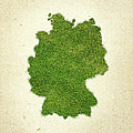 Germany Grass Map by Aged Pixel