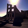 Ghost Town - Bank Closed by Maria Arango Diener