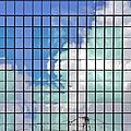 Glass Facade Houston Tx by Christine Till