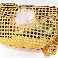 Gold Sequin Purse by Jo Ann Snover