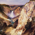 Great Falls Of Yellowstone by Thomas Moran