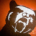 Grizzly Bear Graffiti by Edward Fielding