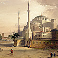 Haghia Sophia, Plate 17 Exterior View by Gaspard Fossati