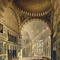 Haghia Sophia, Plate 24 Interior by Gaspard Fossati