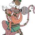Hanuman by Kruti Shah