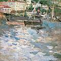 Harbor At Nice by Berthe Morisot