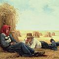 Harvest Time by Julien Dupre