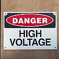 High Voltage Sign by Hans Engbers